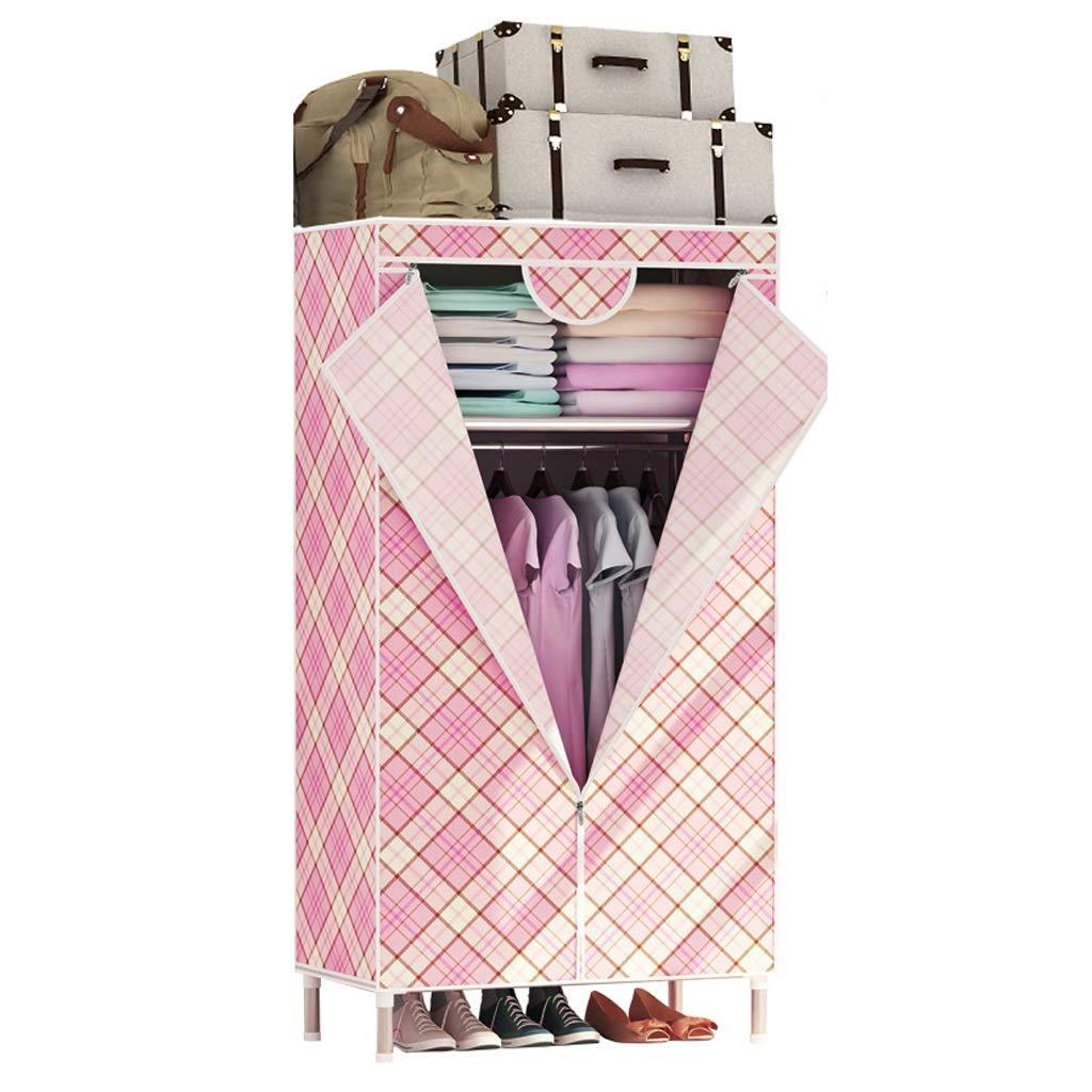 Hai Yan Boutique Cloth Wardrobe Cloth Wardrobe Simple Assembly Storage Clothes Single Wardrobe Dormitory (Color : D) by Hai Yan