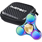 Maeffort Hand Spinner, Tri Fidget Spinner Rainbow Colorful Stress Reducer Toy High Speed Low-noise for Kids and Adults, Single/both Hands Stress Toys For ADD,ADHD,Anxiety,Autism,Boredom