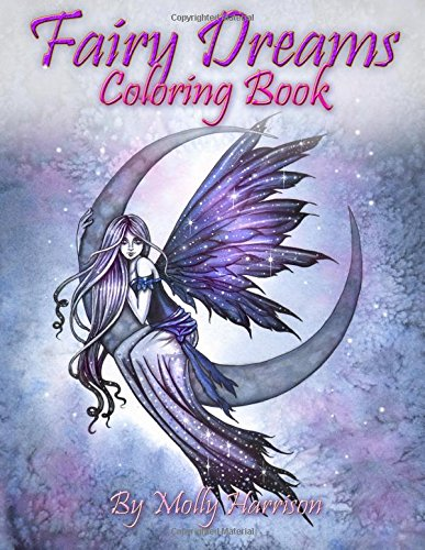 fairy-dreams-coloring-book-by-molly-harrison-adult-coloring-book-featuring-beautiful-dreamy-flower-fairies-and-celestial-fairies