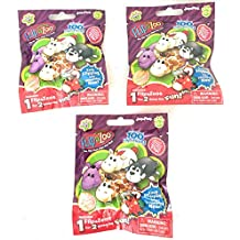 Set of 3: FlipaZoo Blind Bags SERIES 1 Mini Collectible Figures