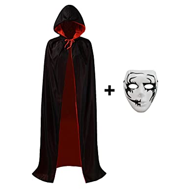 halloween costume capes robe cloak shawl halloween party for men and women s