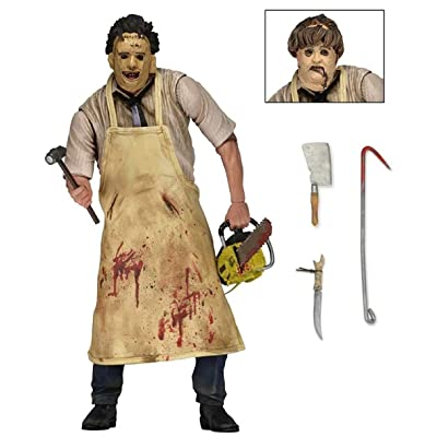 mojbu Texas Chainsaw Massacre Horror Series 7-inch Movable Puppet Hand Model, Toy Model: Home & Kitchen