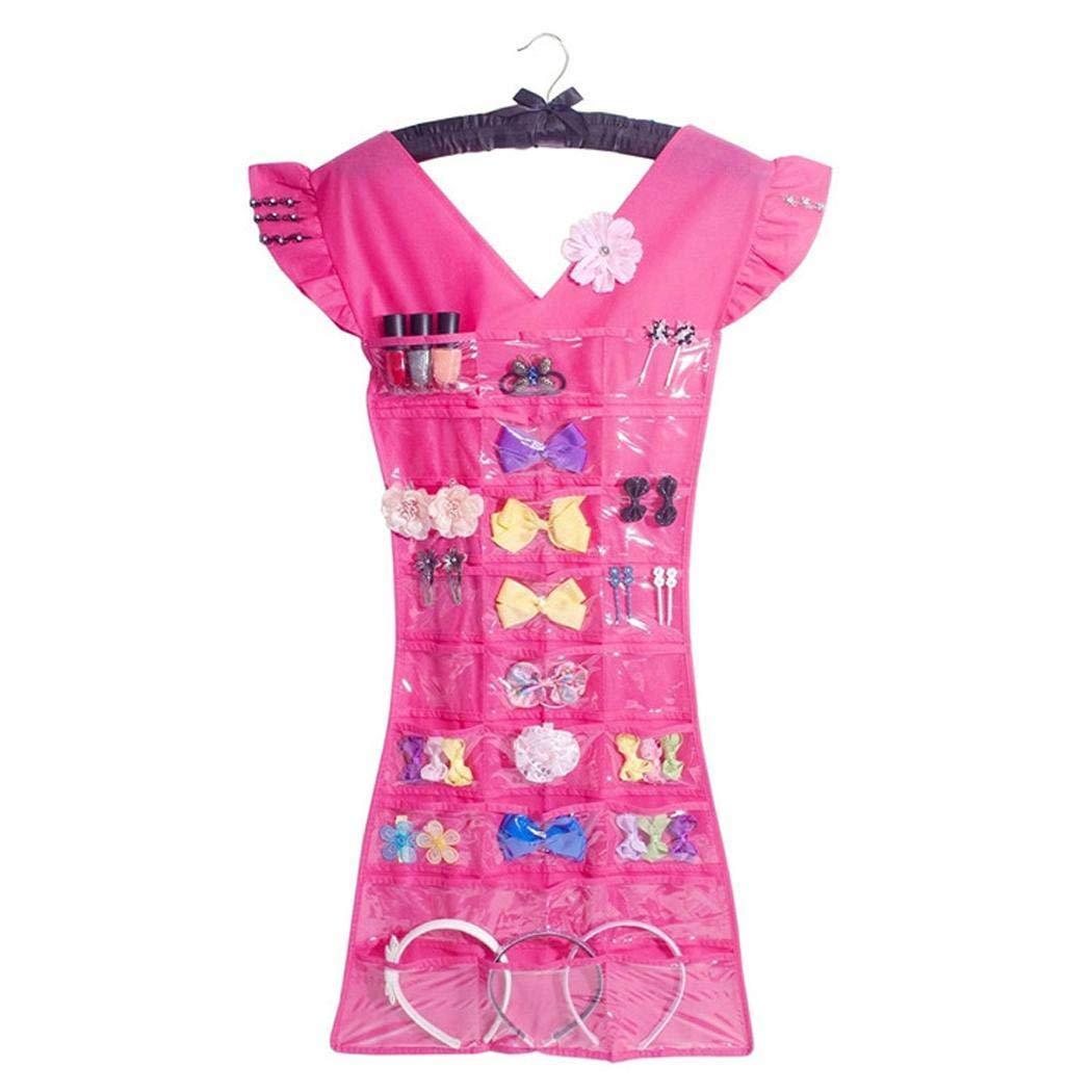 Miuniu Creative Jewelry Hanging Bag Waterproof Bathroom Storage Rack Hanger Tie Racks by Miuniu