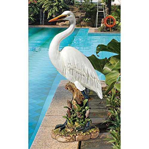 Design Toscano The Great White Egret Statue