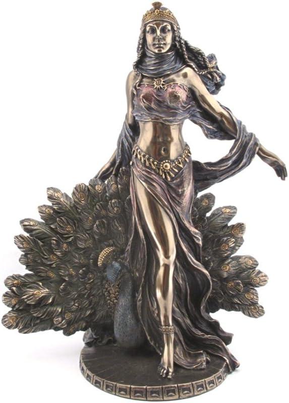 Greek Goddess Hera Bronzed Statue Juno Weddings