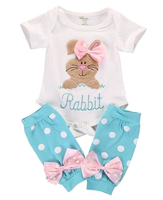 Amazon.com: Set de 2 piezas de ropa de bebé recién nacido ...