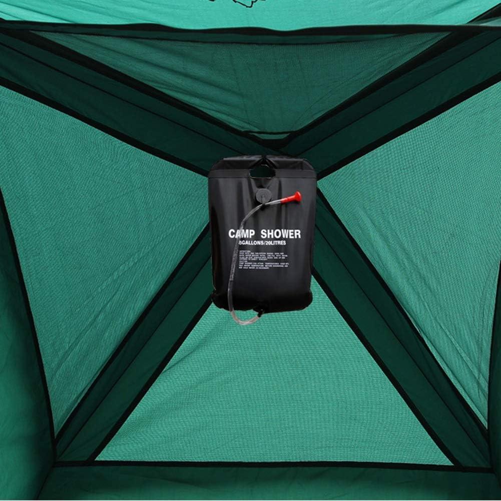 Tienda De Campaña Tienda De Ducha Plegable para 1-2 Personas con Bolsa De Viaje para Camping Playa Bosques Zonas De Montaña Ducha Aseo Carpas (Color : Tent and 12L) Tent and 12L