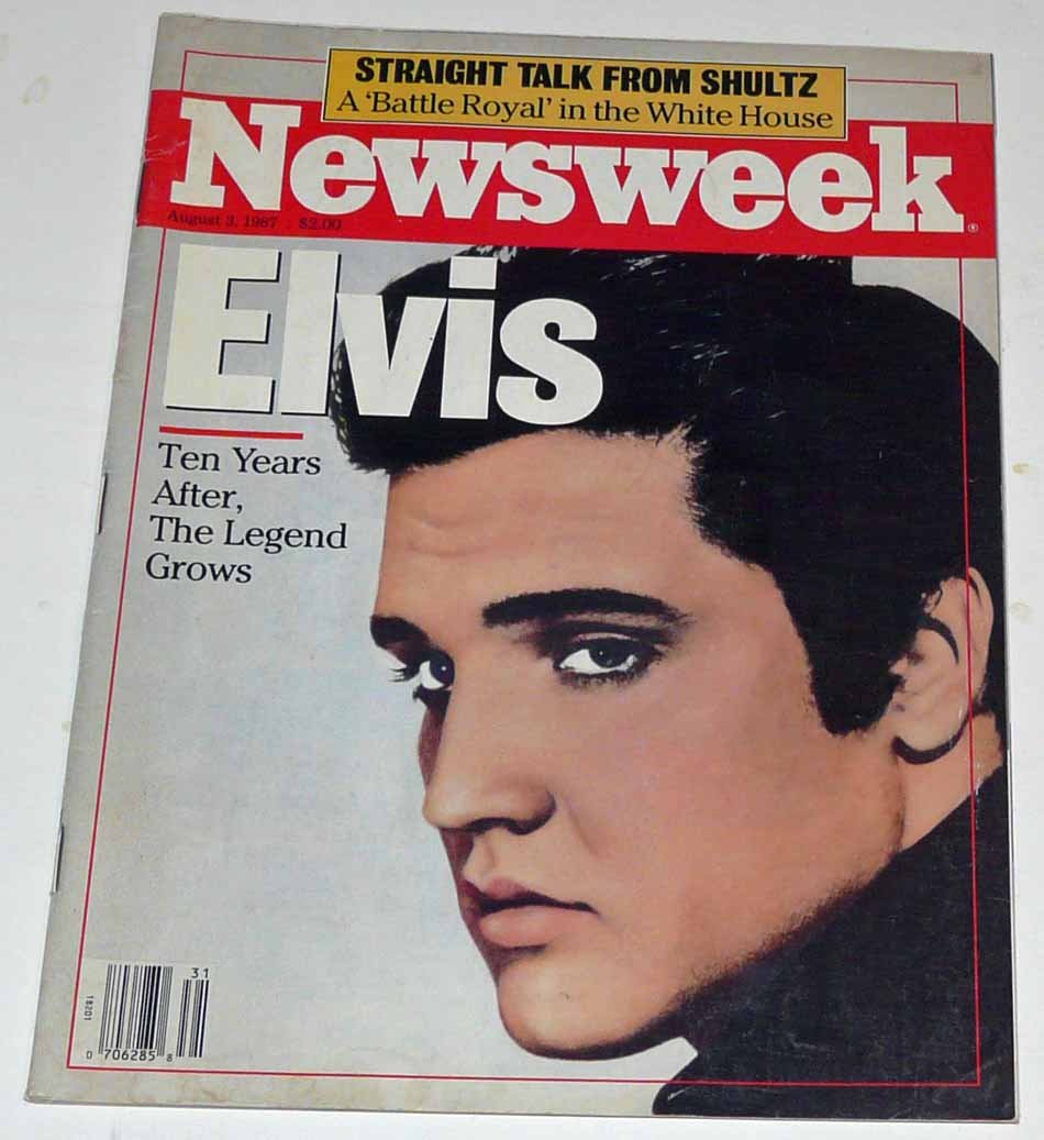 Newsweek V.110 #5 Aug. 3, 1987 Elvis Ten Years After, The Legend Grows:  Newsweek, Inc.: Amazon.com: Books