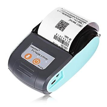 GOOJPRT PT 210 - Impresora térmica portátil con Bluetooth (58 mm ...