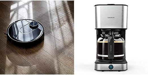 Cecotec Robot Aspirador Conga Serie 3690 Absolute + Cafetera Goteo ...