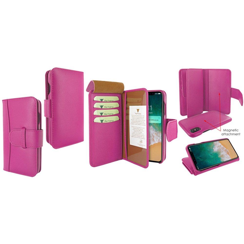 Amazon.com: Piel Frama U793P Case WalletMagnum for iPhone X ...