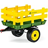 Peg Perego John Deere Stakeside Trailer Ride On, Green