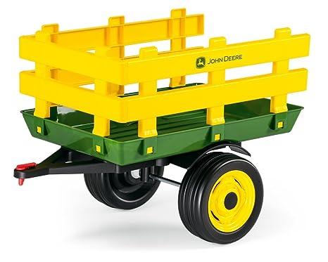 John Deere Ride On Toys >> Peg Perego John Deere Stakeside Trailer Ride On Green