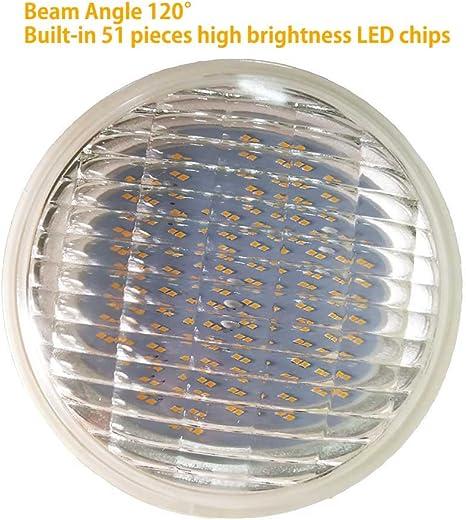 5 Pack PAR36 LUX Series IP67// Cree Chip 40/° Light Bulbs