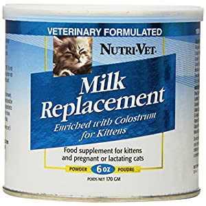 Nutri-Vet Milk Replacement For Kittens with Probiotics, 12-Ounce 4