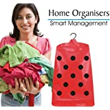 Jupiter Hanging Laundry Bag for Clothes - Spotty Red (Lady Bug)