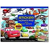 Bendon Disney Pixar Cars/Planes Ultimate Sticker Activity Pad