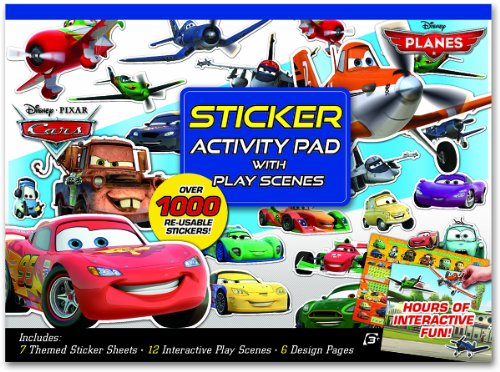 Disney Cars Art (Bendon Disney Pixar Cars/Planes Ultimate Sticker Activity Pad)