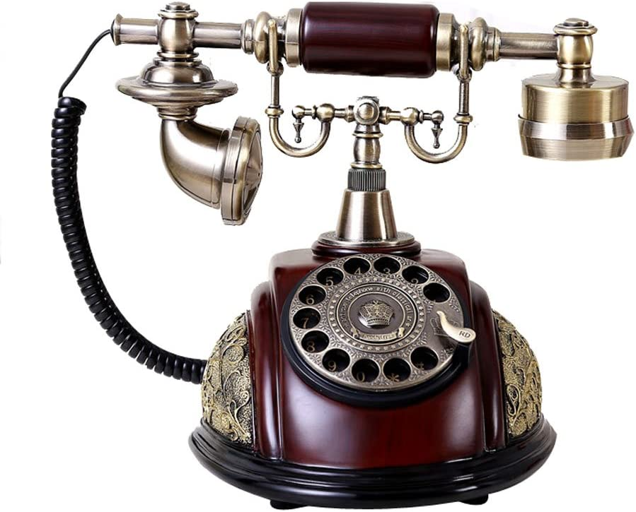 TelPal Classic Vintage Antique Old Fashion Telephone Set for Home & Office Decor Gift