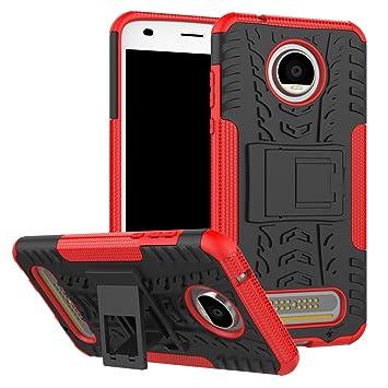 TiHen Funda Motorola Moto Z2 Play 360 Grados Protective con ...