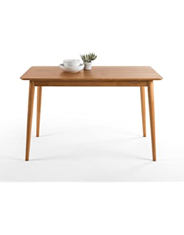 a511a3efd373 Zinus Jen Mid-Century Modern Wood Dining Table   Natural