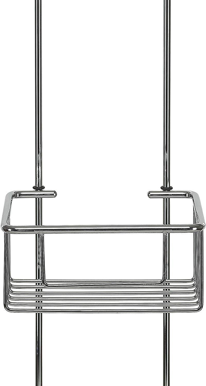 kowald Design Duschkorb zum H/ängen Duschablage zum H/ängen verchromt rostfrei