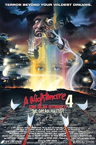 Posters USA A Nightmare On Elm Street 4 The Dream Master GLOSSY FINISH Movie Poster - FIL807 (24