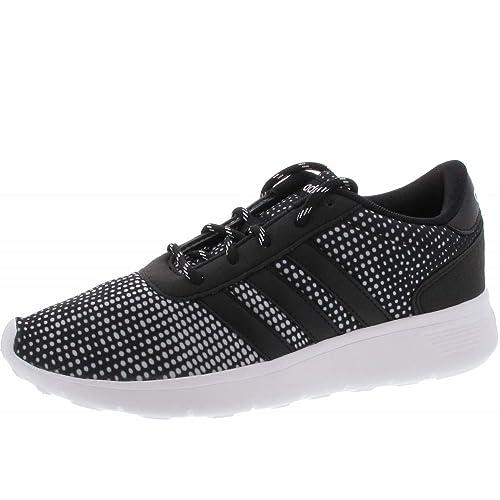 Adidas Lite Racer Zapatillas Negras Mujer: Amazon.es: Zapatos y complementos