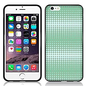 Case Fun Long Wave in Mint Grey by Finch Five TPU Rubber Back Case Cover for Apple iPhone 6 (4.7 inch)