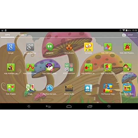 Amazon.com : 7 Inch Kids Tablet, 512MB RAM 8GB Android 4.4 ...
