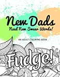New Dads Need New Swear Words!: An Adult Coloring Book (Hilarious Coloring Book for Grown Ups)