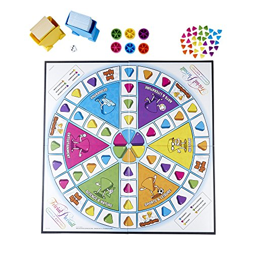 61MPM4M8M0L - Hasbro Gaming Trivial Pursuit Family Edition Adult Game