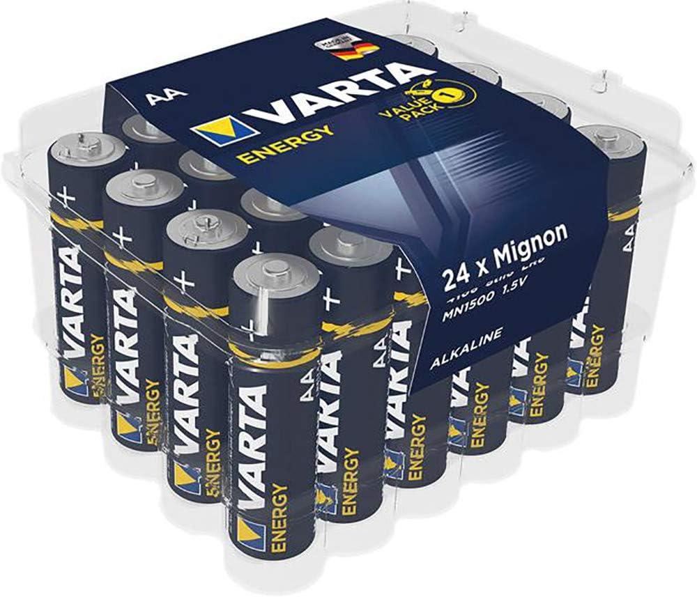 Varta Energy Aa Mignon Lr6 Batterie 24er Pack Alkaline