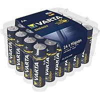 """Pila VARTA Energy AA Mignon LR06 (paquete de 24 unidades), pila alcalina – """"Made in Germany"""" – ideal para radios y…"""