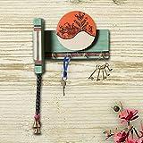 Unravel India MDF Wood warli painting wall key holder