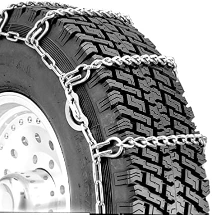 Set of 2 Security Chain Company QG2255 Quik Grip Truck Single LSH Tire Traction Chain