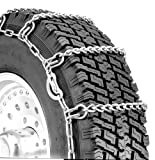 Security Chain Company QG2255CAM Quik Grip Truck Single CAM LSH Tire Traction Chain - Set of 2