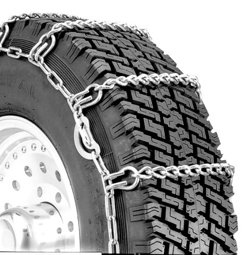 Security Chain Company QG2244HD Quik Grip Heavy Duty Truck Single CAM LSH Tire Traction Chain - Set of 2