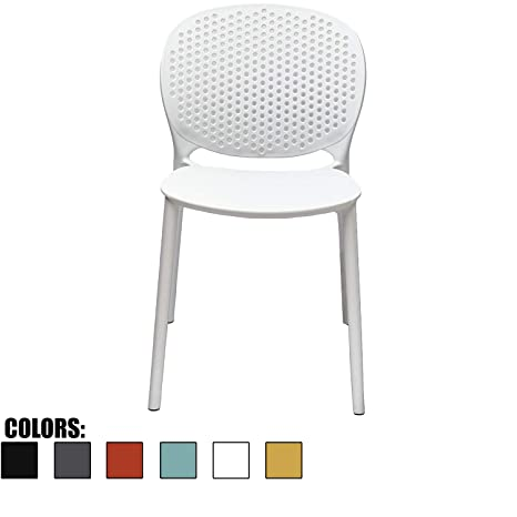 Awe Inspiring 2Xhome White Contemporary Modern Stackable Assembled Plastic Chair Molded With Back Armless Side Matte For Dining Room Living Designer Outdoor Gmtry Best Dining Table And Chair Ideas Images Gmtryco