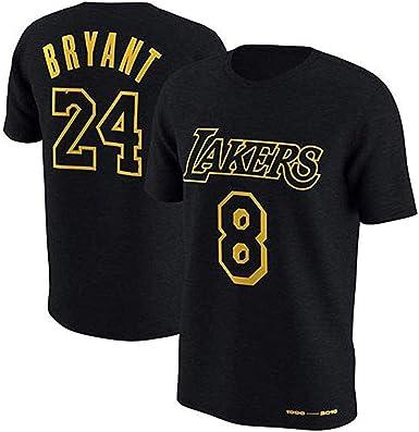 Camiseta de Baloncesto Suitnba L.A Lakers Kobe Bryant Manga Corta ...