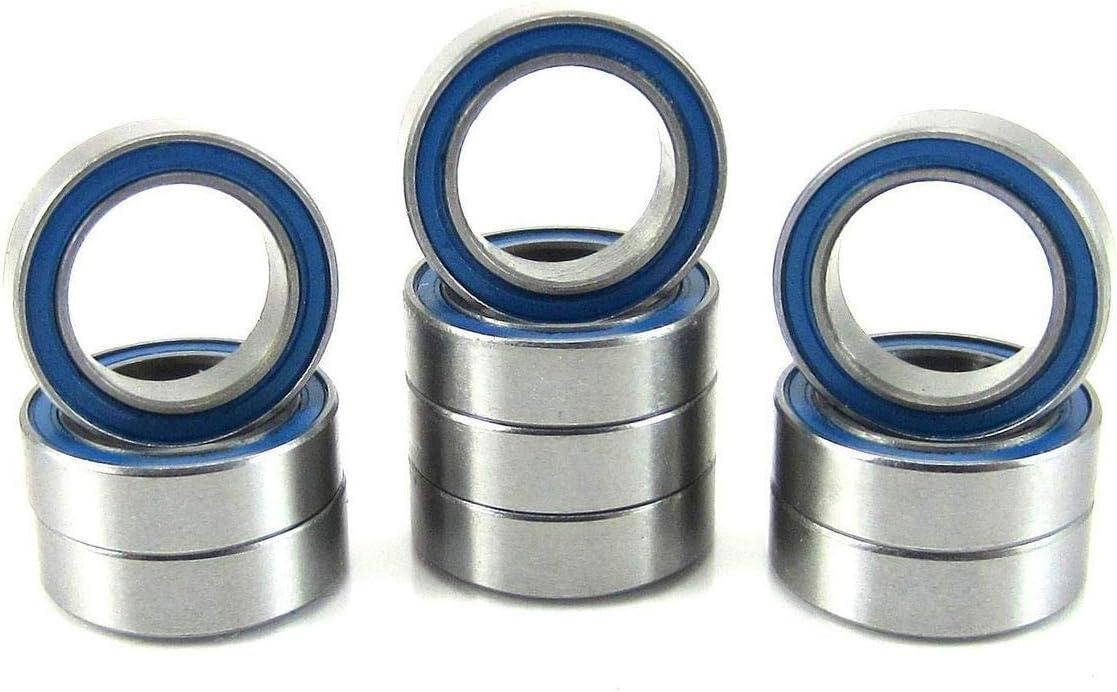 QTY.10 RB TECH C3 Ball Bearing 1//8x3//8x.1562 R2 2RS//R2-ZZ Premium RBI