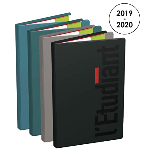 Amazon.com: LEtudiant Week-to-View Diary with PVC Cover ...
