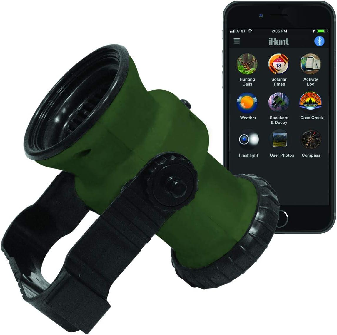 iHunt Ultimate Electronic Game Call & Bluetooth Speaker Combo, EDIHGC