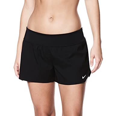 71303c2dde2f Nike NESS8202 Women s Solid Element Swim Boardshort at Amazon ...