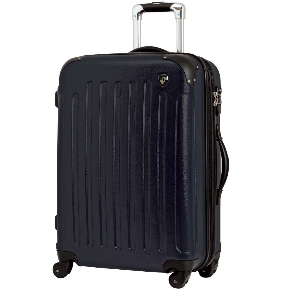 [グリフィンランド]_Griffinland TSAロック搭載 スーツケース 超軽量 マット加工 newFK10371 ファスナー開閉式 B002T4O3O4 MS型|ネイビー ネイビー MS型