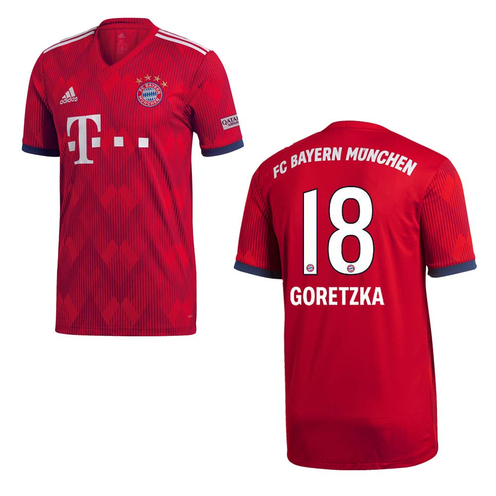 Adidas FC Bayern MÜNCHEN Trikot Home Kinder 2019 - GORETZKA 18
