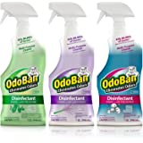OdoBan Ready-to-Use 32 oz Spray Scent Assortment, 3 Bottles (1 Each Original Eucalyptus, Lavender, Cotton Breeze)