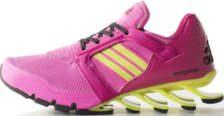 adidas Springblade E Force Laufschuhe pinkgelbschwarz