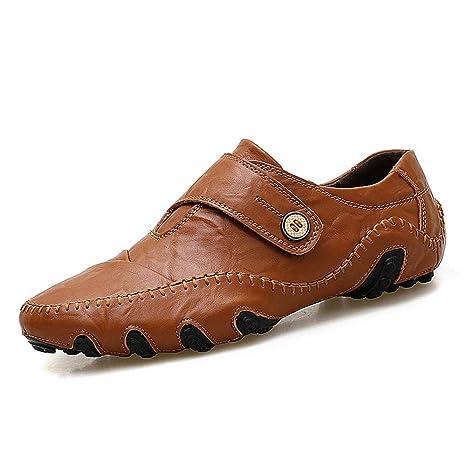 Xiazhi-shoes, Mocasines Ocasionales para Hombre The New Octopus Soft Bottom Mocasines de Barcos Transpirables (Color : Marrón, tamaño : 47 EU): Amazon.es: ...