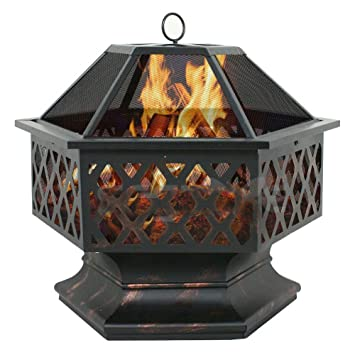 Amazon.com: Estufa de leña para quemar al aire libre ...